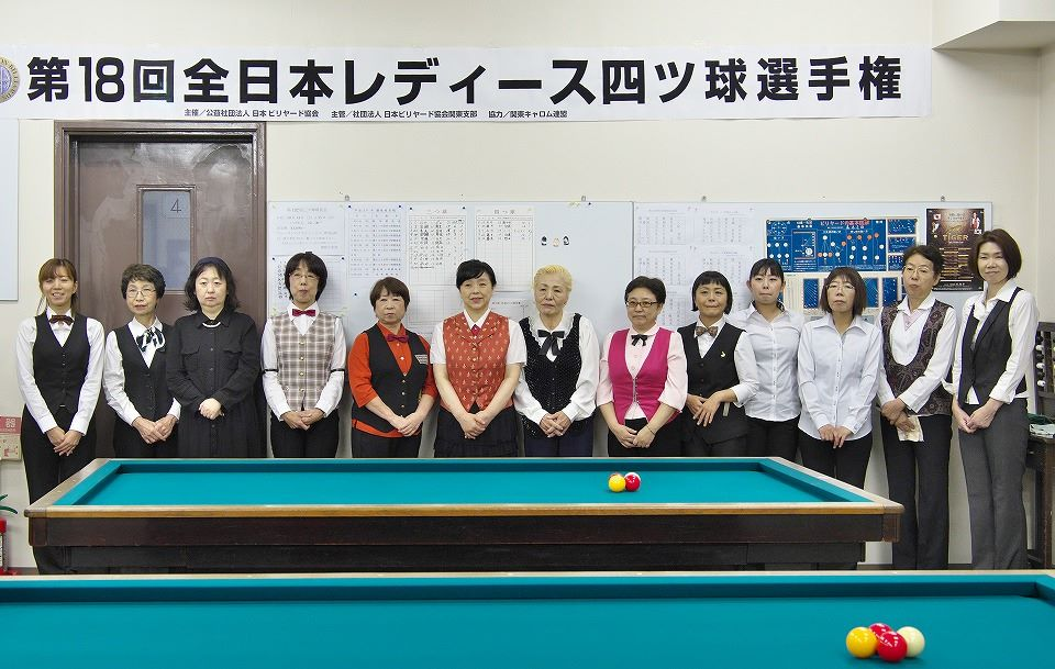 All Japan Women's Championship for Four-Ball Billiards